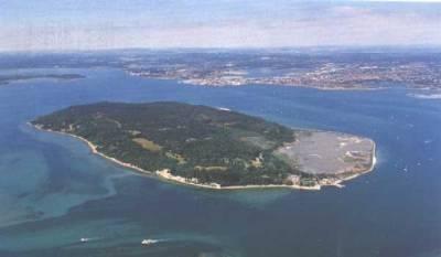 Ariel View of Island